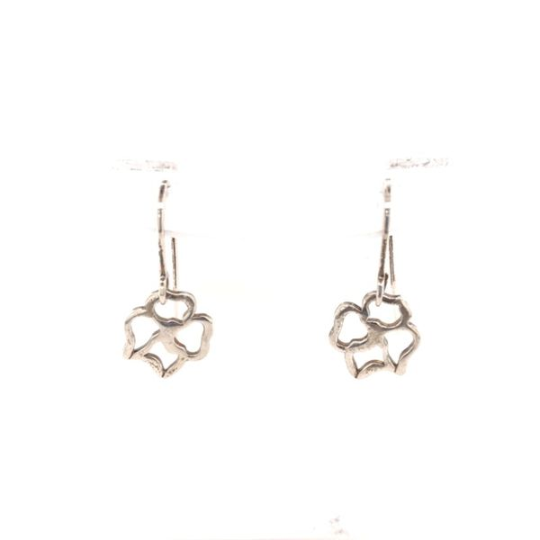 Rolland's Design Flower Earrings Rolland's Jewelers Libertyville, IL