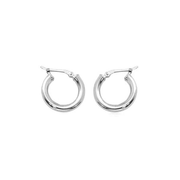 Carla Gold Hoop Earrings Rolland's Jewelers Libertyville, IL