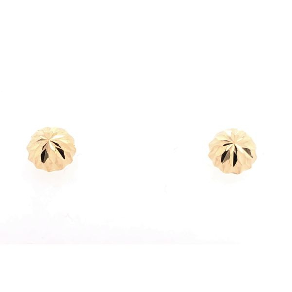 Estate 14K Yellow Gold Studs Rolland's Jewelers Libertyville, IL