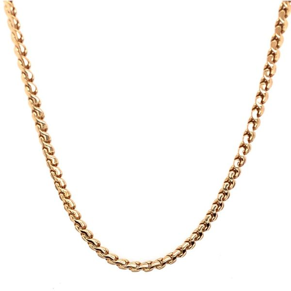 Estate 14K Yellow Gold Slink Chain Rolland's Jewelers Libertyville, IL
