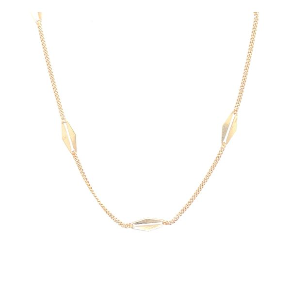 Estate 14K Yellow Gold Fashion Chain Rolland's Jewelers Libertyville, IL