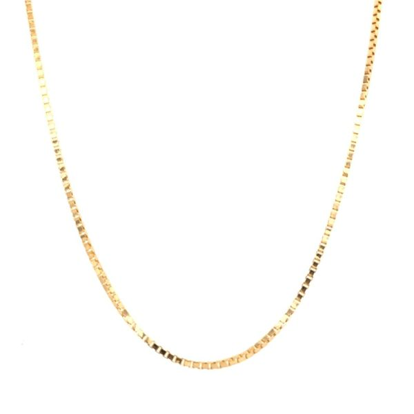 Estate 14K Yellow Gold Box Chain Rolland's Jewelers Libertyville, IL