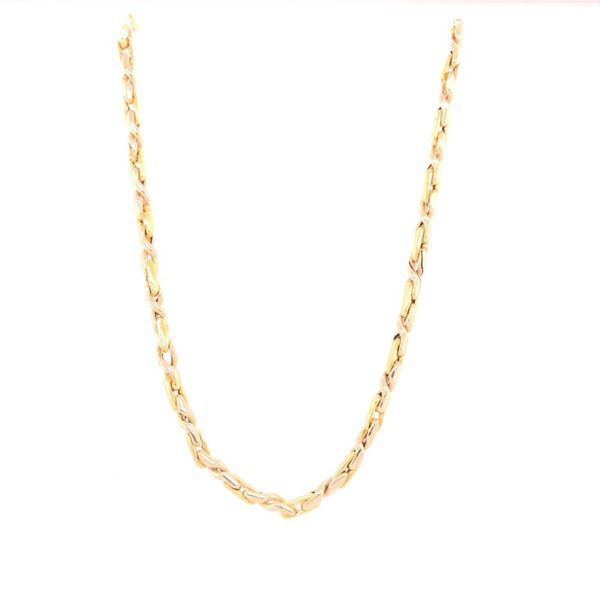 Estate 18K Yellow Gold Link Chain Rolland's Jewelers Libertyville, IL