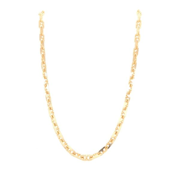 Estate 18K Yellow Gold Gucci Link Chain Rolland's Jewelers Libertyville, IL