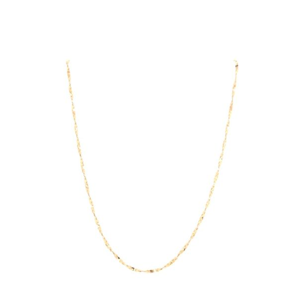 Estate 14K Yellow Gold Twisted Chain Rolland's Jewelers Libertyville, IL