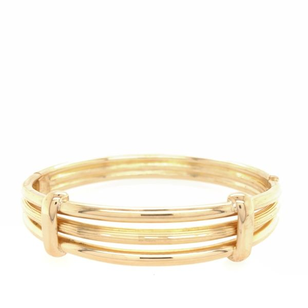 Estate 18K Yellow Gold Bangle Rolland's Jewelers Libertyville, IL