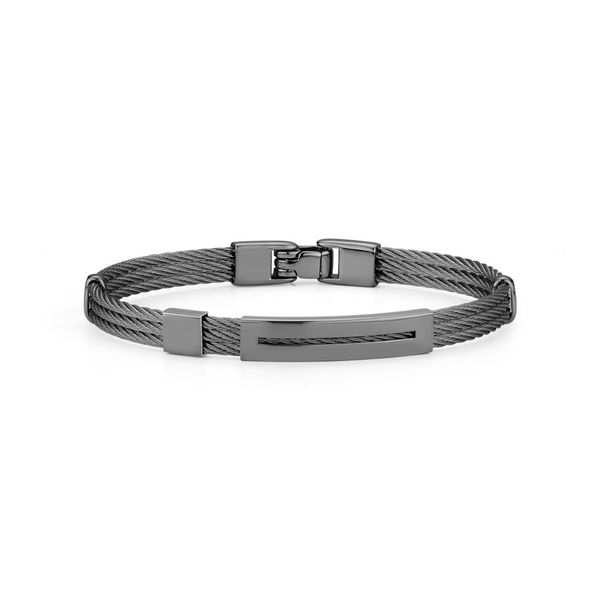 Alor Men's Stainless Steel Bracelet Rolland's Jewelers Libertyville, IL