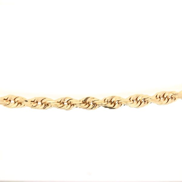 Estate 14K Yellow Gold Rope Bracelet Rolland's Jewelers Libertyville, IL