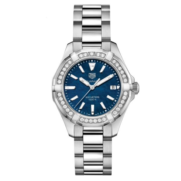 TAG Heuer Ladies Aqua Racer Watch. 35mm Rolland's Jewelers Libertyville, IL