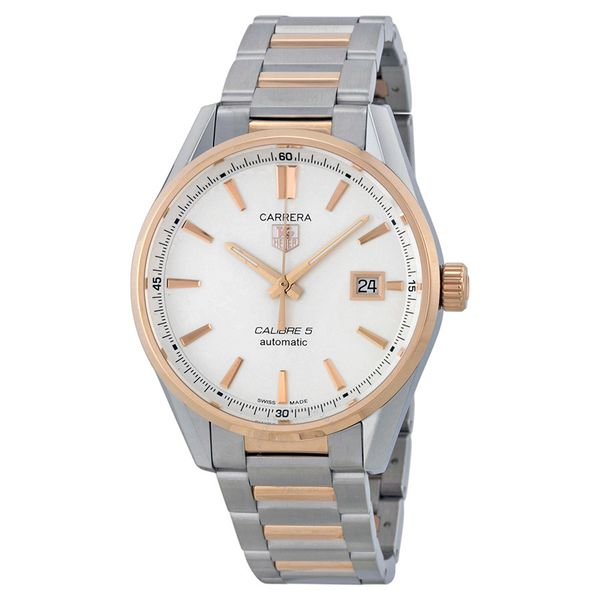 TAG Heuer Carrera Calibre 5 Automatic Watch. 39mm Rolland's Jewelers Libertyville, IL