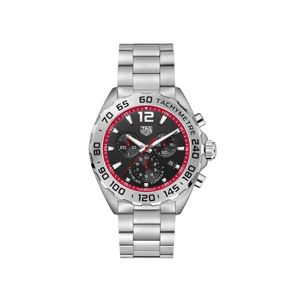 TAG Heuer Quartz Formula 1 Watch.  43Mm Rolland's Jewelers Libertyville, IL
