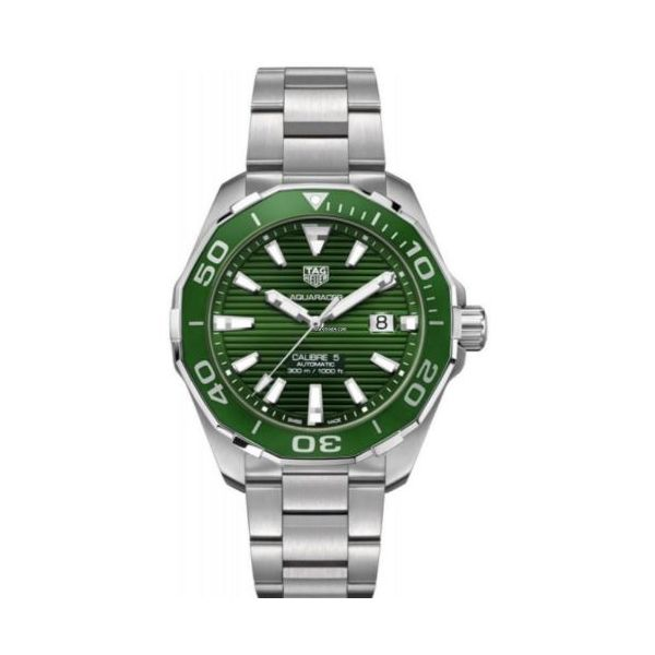 TAG Heuer Aquaracer Watch. 43mm Rolland's Jewelers Libertyville, IL