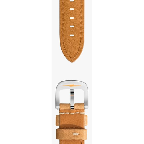 Shinola Natural Leather Watch Strap Image 2 Rolland's Jewelers Libertyville, IL