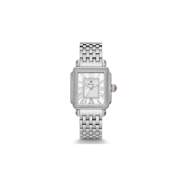 Michele Deco Park Diamond Watch, 16mm Rolland's Jewelers Libertyville, IL