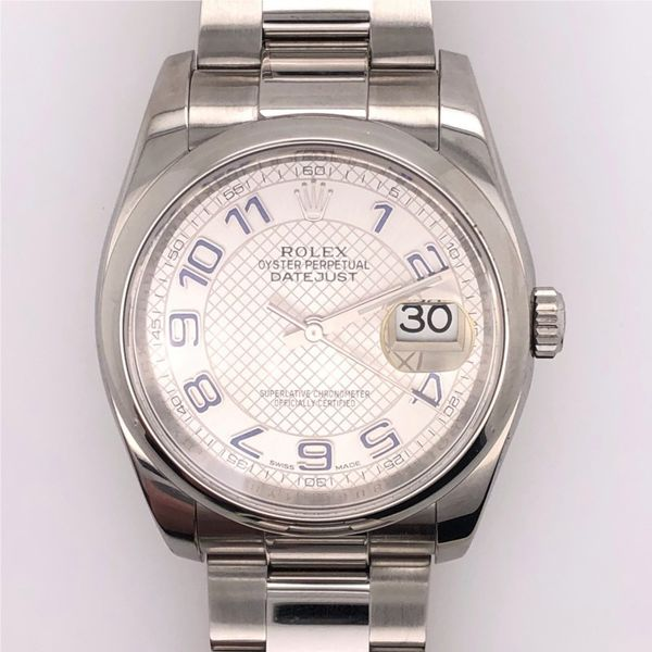 Pre-Owned Rolex Datejust Watch. 36mm Rolland's Jewelers Libertyville, IL