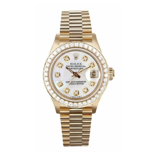 Pre-Owned Rolex Datejust President Watch. 26mm Rolland's Jewelers Libertyville, IL