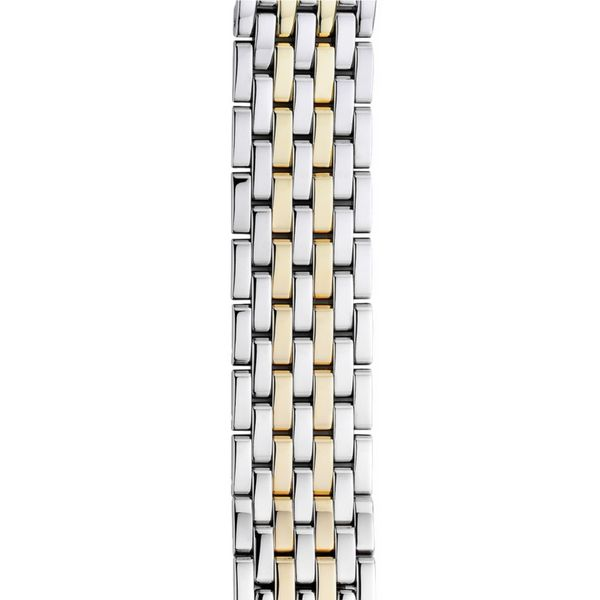Michele Deco Two Tone Gold Bracelet, 18mm Rolland's Jewelers Libertyville, IL