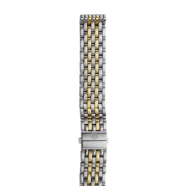 Michele Deco Mid Two Tone Bracelet, 16mm Rolland's Jewelers Libertyville, IL