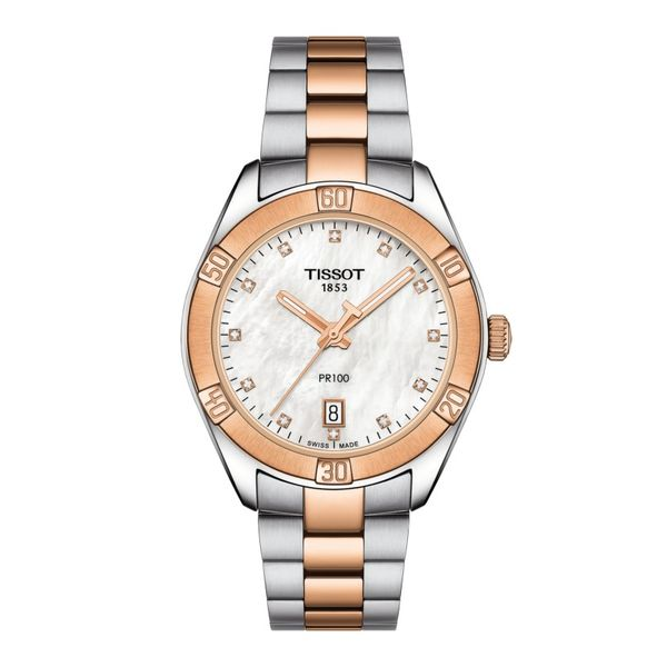 Tissot PR 100 Sport Chic Watch, 36mm Rolland's Jewelers Libertyville, IL