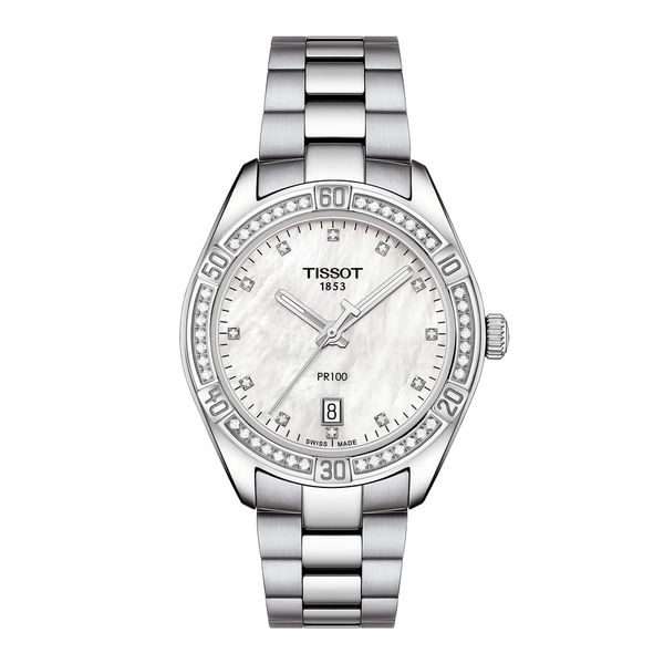 Tissot PR 100 Lady Sport Chic Watch, 36mm Rolland's Jewelers Libertyville, IL