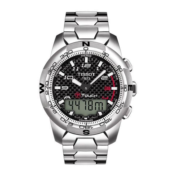 Tissot T-Touch II Titanium Watch, 43mm Rolland's Jewelers Libertyville, IL