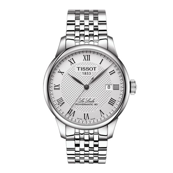 Tissot Le Locle Powermatic 80 Watch, 39mm Rolland's Jewelers Libertyville, IL