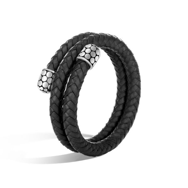 John Hardy Dot Collection Leather Bracelet Rolland's Jewelers Libertyville, IL