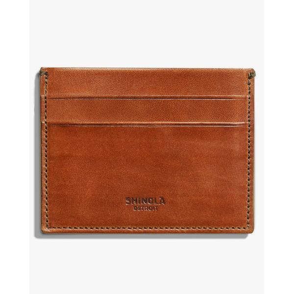 Shinola Men's Leather Card Case Rolland's Jewelers Libertyville, IL