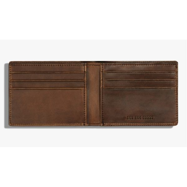 Shinola Men's Leather Wallet Image 2 Rolland's Jewelers Libertyville, IL
