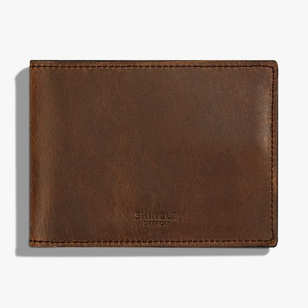 Shinola Men's Leather Wallet Rolland's Jewelers Libertyville, IL