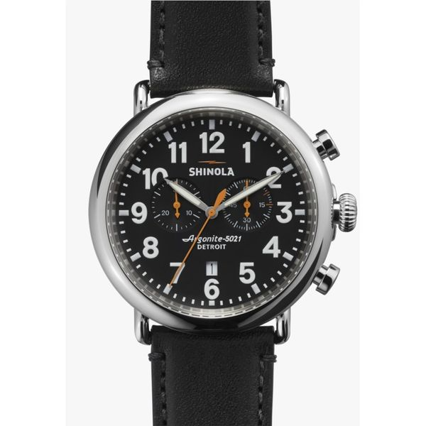 Shinola The Runwell Chrono Watch, 47mm Rolland's Jewelers Libertyville, IL