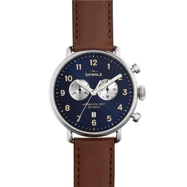 Shinola The Canfield Chrono Watch, 43mm Rolland's Jewelers Libertyville, IL