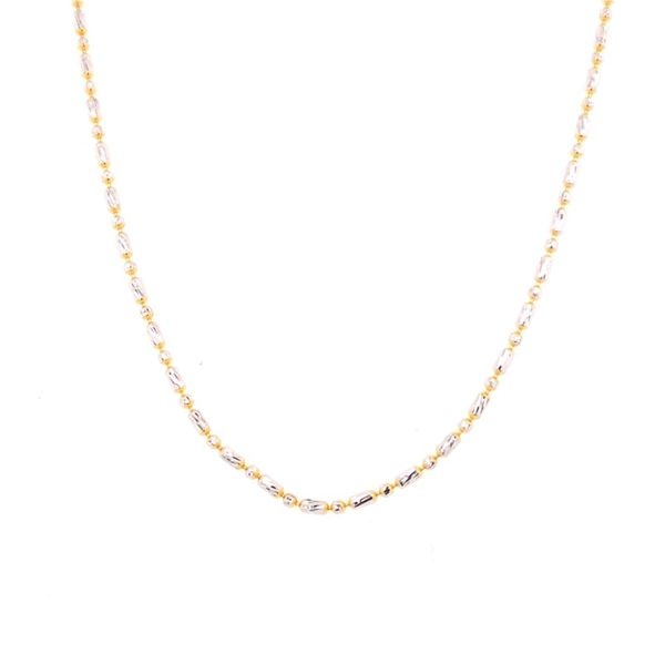 Estate Diamond Cut Beaded Chain Rolland's Jewelers Libertyville, IL