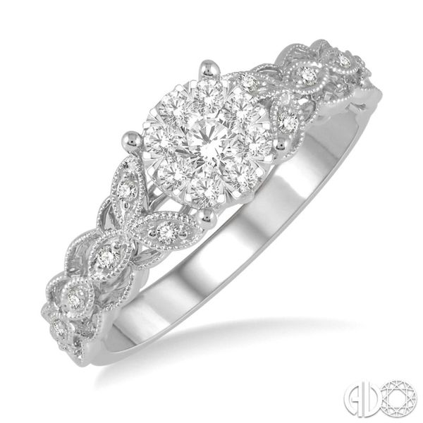 Lovebright Bridal Diamond Engagement Ring Ross Elliott Jewelers Terre Haute, IN