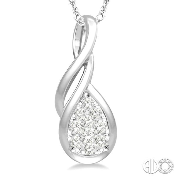 Lovebright Diamond Pendant Image 3 Ross Elliott Jewelers Terre Haute, IN