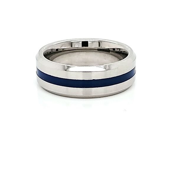 Alternative Metal Wedding Band Ross Elliott Jewelers Terre Haute, IN