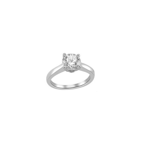 Solitaire Engagement Ring Sam Dial Jewelers Pullman, WA
