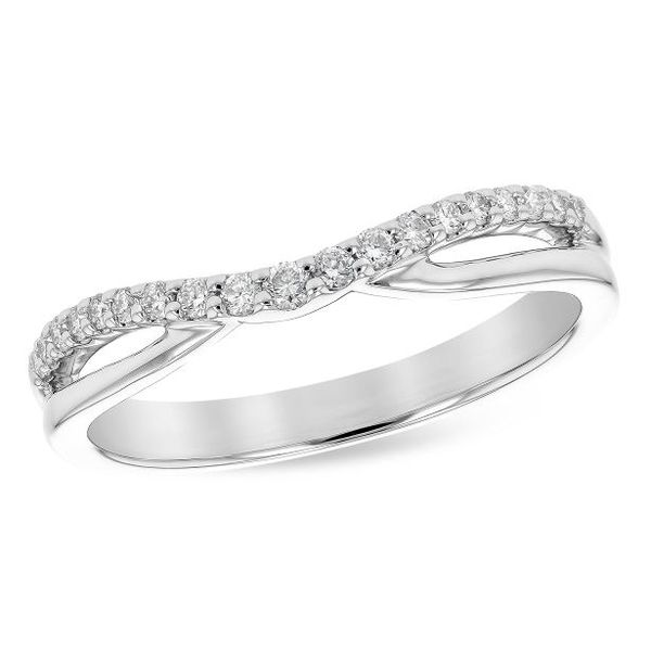 Allison Kaufman Wedding Band Sam Dial Jewelers Pullman, WA