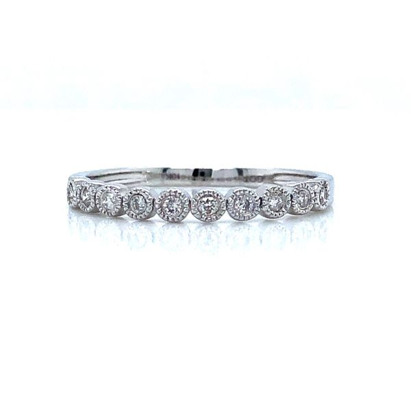 MILIGRAIN BEZEL DIAMOND RING Sam Dial Jewelers Pullman, WA