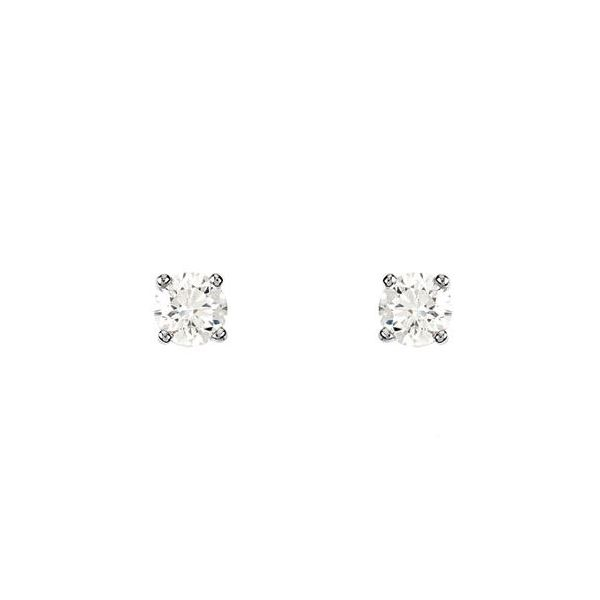 2.45MM DIAMOND STUDS .11CT Sam Dial Jewelers Pullman, WA