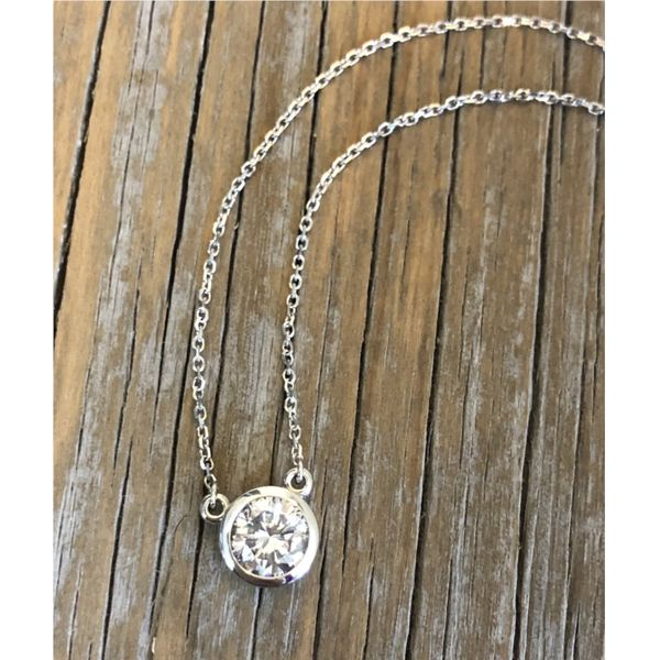 1.0CT SOLITAIRE NECKLACE Image 2 Sam Dial Jewelers Pullman, WA