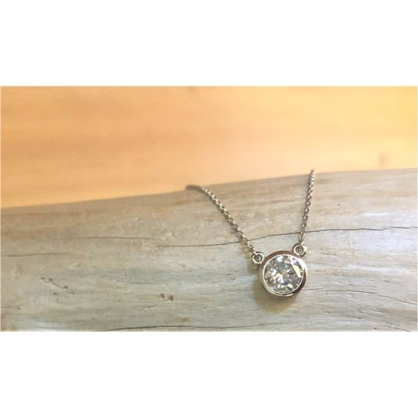 1.0CT SOLITAIRE NECKLACE Sam Dial Jewelers Pullman, WA