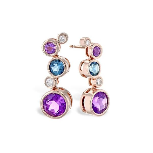Multi Stone Dangle Earrings Sam Dial Jewelers Pullman, WA