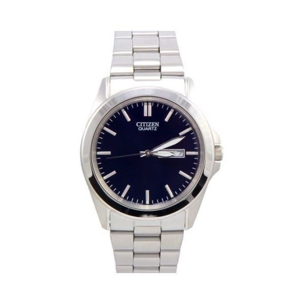 Men's Blue and Silver Watch Sam Dial Jewelers Pullman, WA