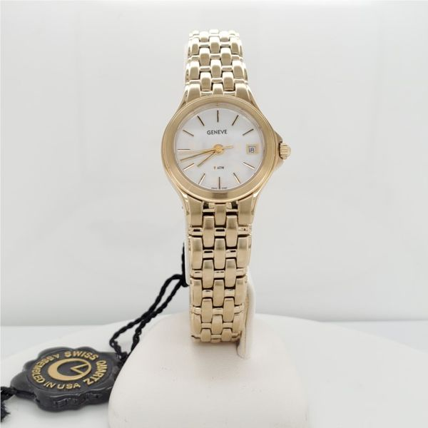 LADIES YELLOW TONED STAINLESS WATCH Sam Dial Jewelers Pullman, WA