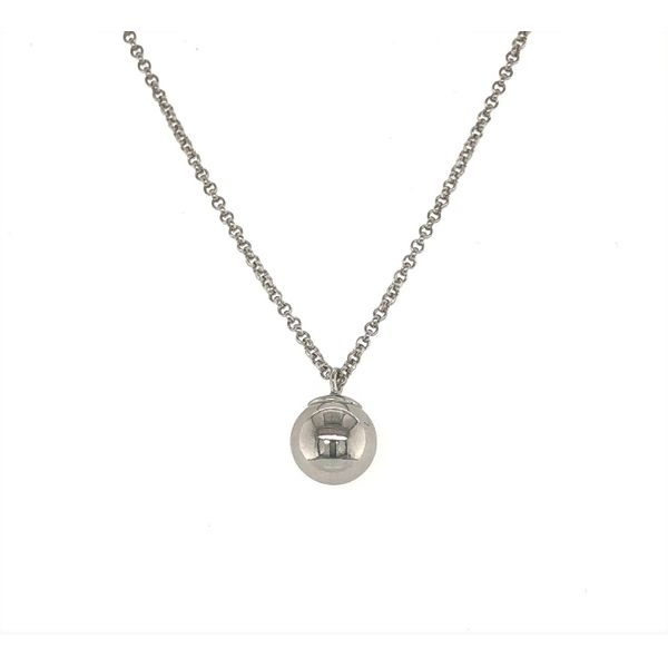 Sterling Silver Ball Pendant Sam Dial Jewelers Pullman, WA