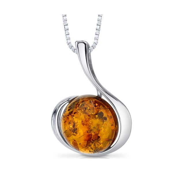 ROUND SHAPED BALTIC AMBER NECKLACE Sam Dial Jewelers Pullman, WA