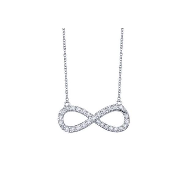 SILVER INFINITY NECKLACE Sam Dial Jewelers Pullman, WA