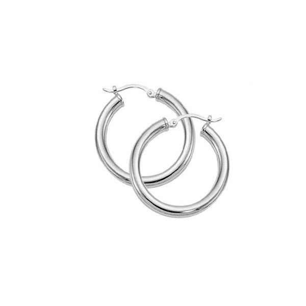check out multiple colors skate shoes Silver Hoops 001-645-00418 - Silver Earrings | Sam Dial Jewelers ...