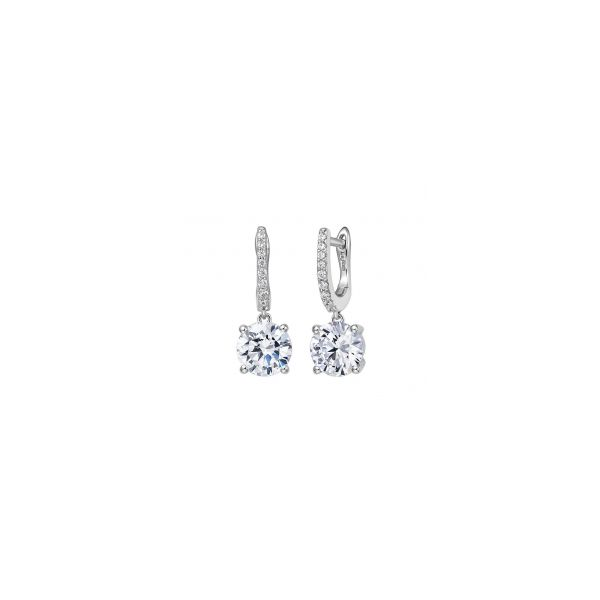 Silver CZ Earrings Sam Dial Jewelers Pullman, WA